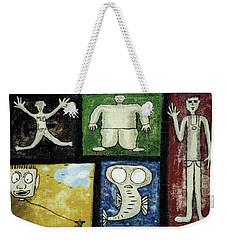 The Gang Of Five Weekender Tote Bag