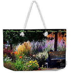 The Garden Of Life Weekender Tote Bag