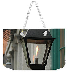 The Gas Light Weekender Tote Bag