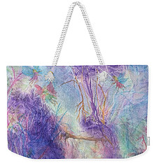 The Gathering Weekender Tote Bag by Ellen Levinson