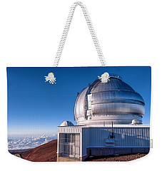 Weekender Tote Bag featuring the photograph The Gemini Observatory by Jim Thompson
