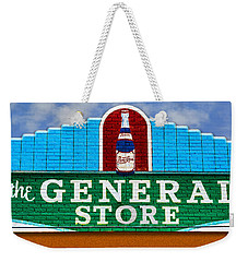 Weekender Tote Bag featuring the photograph The General Store by Paul Wear