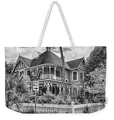 Weekender Tote Bag featuring the photograph The Gingerbread House by Howard Salmon