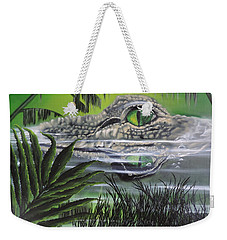 Weekender Tote Bag featuring the painting The Glades by Dianna Lewis