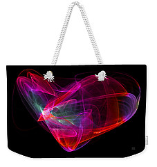The Glass Heart Weekender Tote Bag
