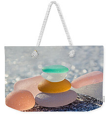 The Glass House Weekender Tote Bag by Barbara McMahon