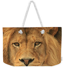 The Glory Of A King Weekender Tote Bag by Laddie Halupa