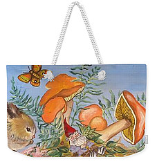 The Gnome Garden Weekender Tote Bag