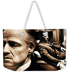 The Godfather Artwork Weekender Tote Bag
