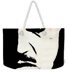 Weekender Tote Bag featuring the painting The Godfather by Dale Loos Jr
