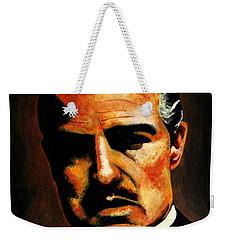 Godfather Weekender Tote Bag by Salman Ravish