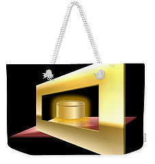The Golden Can Weekender Tote Bag by Cyril Maza