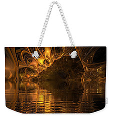 The Golden Cave Weekender Tote Bag