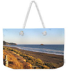 The Golden Coast Weekender Tote Bag by AJ  Schibig
