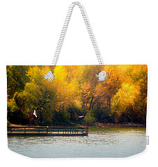 The Golden Hour Weekender Tote Bag by Lucinda Walter