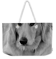 The Golden Retriever Weekender Tote Bag by James C Thomas