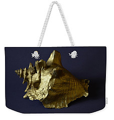 The Golden Shell Weekender Tote Bag