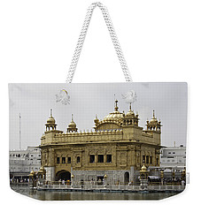 Weekender Tote Bag featuring the photograph The Golden Temple In Amritsar by Ashish Agarwal