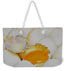 The Good Egg Weekender Tote Bag