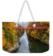 The Gorge Square Weekender Tote Bag