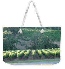 Weekender Tote Bag featuring the photograph The Grape Lines by Shawn Marlow
