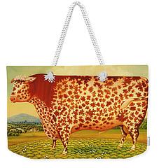 The Great Bull Weekender Tote Bag by Frances Broomfield