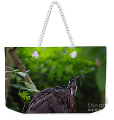 The Great Curassow 2 Weekender Tote Bag by Michelle Meenawong