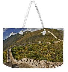 The Great Wall Of China At Mutianyu 2 Weekender Tote Bag