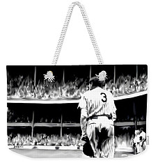 The Greatest Of All  Babe Ruth Weekender Tote Bag by Iconic Images Art Gallery David Pucciarelli
