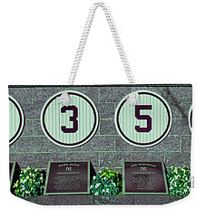 The Greatest Yankees Weekender Tote Bag