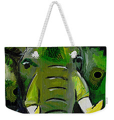 The Green Elephant In The Room Weekender Tote Bag
