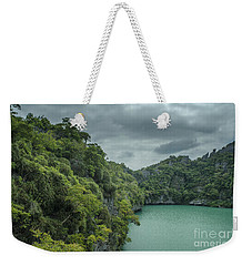 The Green Laguna Weekender Tote Bag by Michelle Meenawong