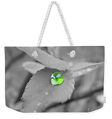 The Green Pearl Weekender Tote Bag by Patti Whitten