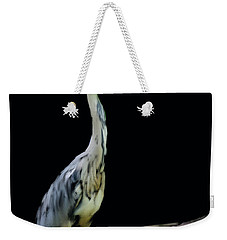 The Grey Heron Weekender Tote Bag