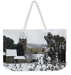 The Grim Reaper Weekender Tote Bag by Ron Harpham
