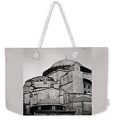 The Hagia Sophia Weekender Tote Bag by Shaun Higson