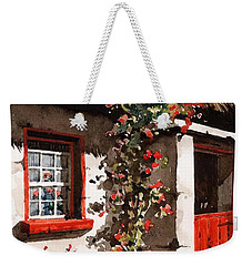 The Half Door Weekender Tote Bag