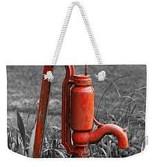 The Hand Pump Weekender Tote Bag by Barbara McMahon