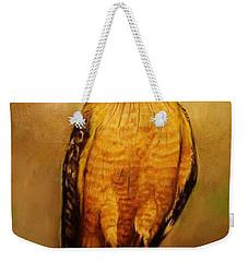 The Hawk Weekender Tote Bag by Jean Cormier
