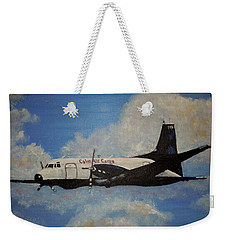 The Hawker Weekender Tote Bag by Marilyn  McNish