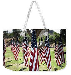 The Healing Field Weekender Tote Bag