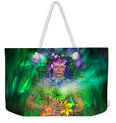 The Healing Garden Weekender Tote Bag