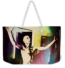 The Healing Weekender Tote Bag by Michael  TMAD Finney