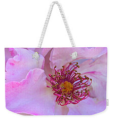 The Heart Of A Rose Weekender Tote Bag by Venetia Featherstone-Witty