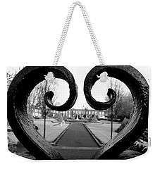 The Heart Of Dublin Weekender Tote Bag