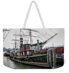Weekender Tote Bag featuring the photograph The Helen Mcallister by Ben Shields