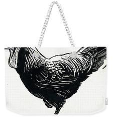 The Hen Weekender Tote Bag by George Adamson