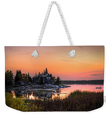 The Hide Away Weekender Tote Bag