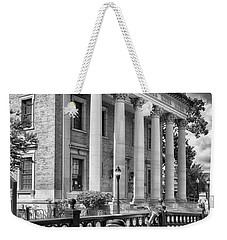 Weekender Tote Bag featuring the photograph The Hippodrome Theatre by Howard Salmon