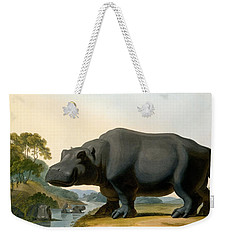 The Hippopotamus, 1804 Weekender Tote Bag by Samuel Daniell
